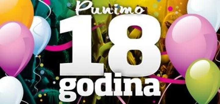 Čestitke za 18. rođendan