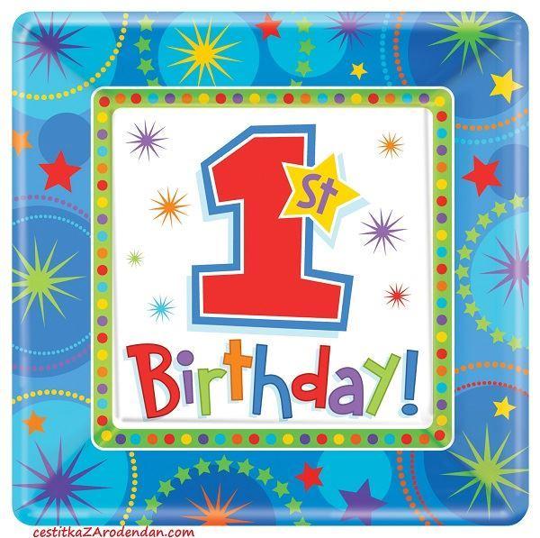 čestitka za 1 rođendan tekst Cestitka za prvi rodjendan   Cestitke za rodjendan čestitka za 1 rođendan tekst